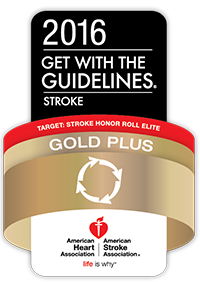 2016 Get with the Guidelines Stroke Gold Plus: American Heart Association and American Stroke Association